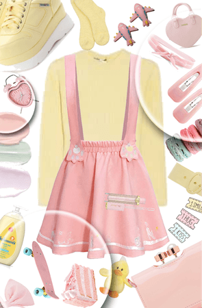 Pastel Yellow and Pink💛💗