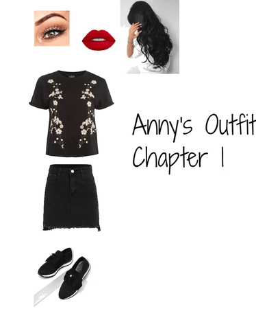 Anny's Outfit Chapter 1