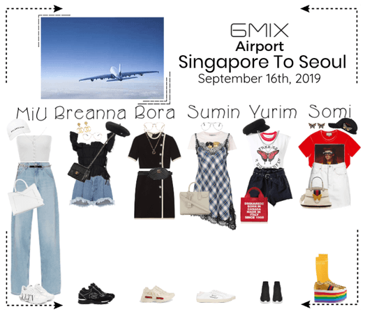 《6mix》Airport | Singapore To Seoul