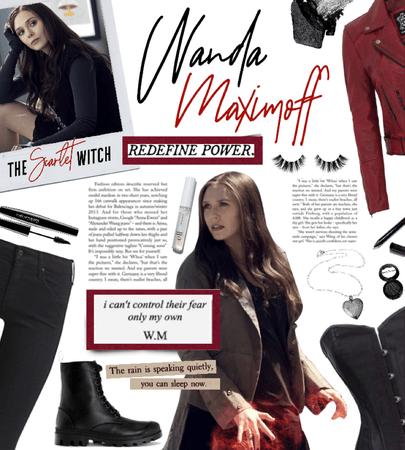 Halloween Costume: Wanda Maximoff