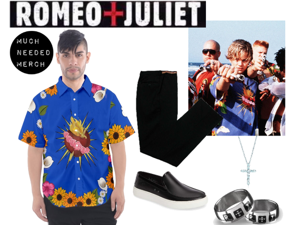 Romeo Sacred Heart Shirt Outfit