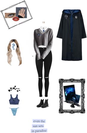 Ravenclaw uniform 🦅💙