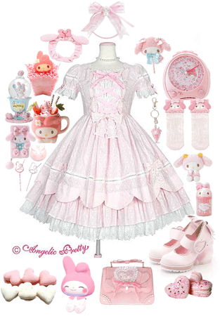 My Melody maid cafe