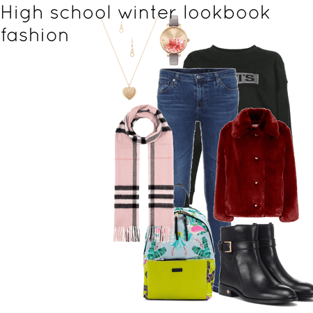 school winter outfits