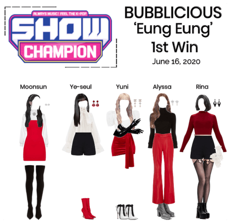 "BUBBLICIOUS (신기한) ""Eung Eung"" 1st Win"