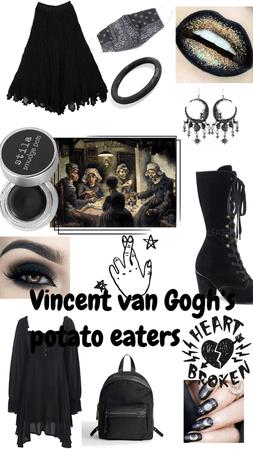 Vince van Goghs the potato eaters