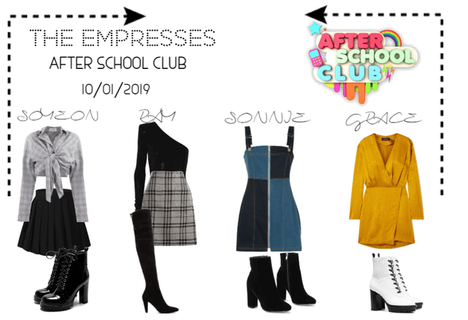 [THE EMPRESSES] AFTER SCHOOL CLUB