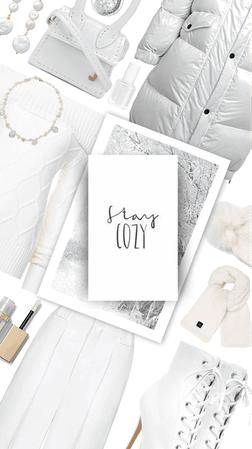 monochrome white on white