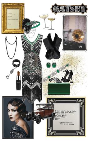 Emerald Flapper