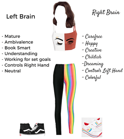 Left/Right Brain Outfit