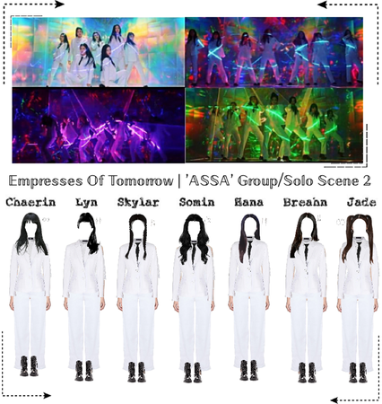 EOT(내일의 황후) | 'ASSA' Group/Solo Dance Scene 2