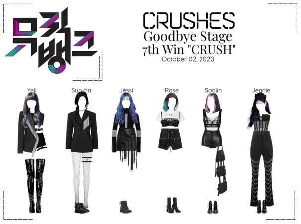 "Crushes (호감) ""CRUSH"" Goodbye Stage 7th Win"
