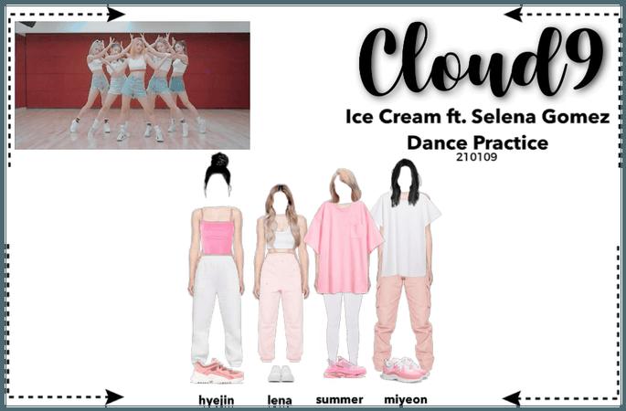Cloud9 (구름아홉) | Ice Cream Dance Practice | 210109