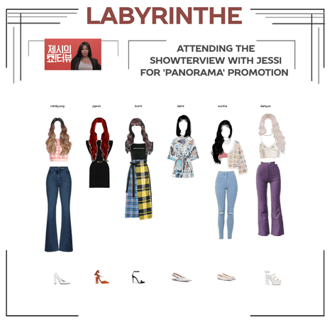 LABYRINTHE on the showterview with jessi