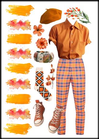 Artsy Orange