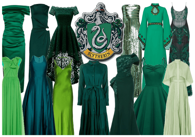 Slytherin Gowns