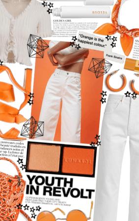 Youthful Orange Spring