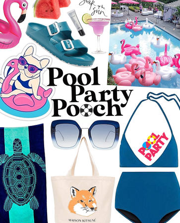pool party pooch | pool party