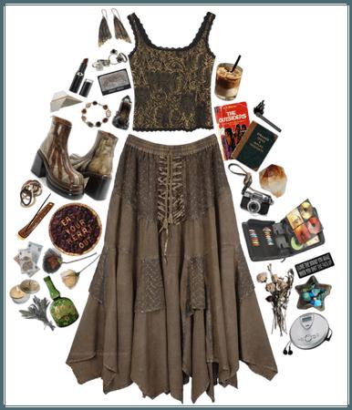 hehe flowy skirt
