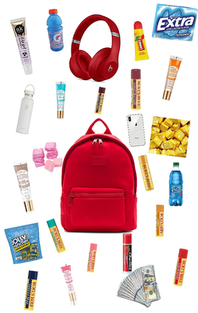 what's in the backpack?