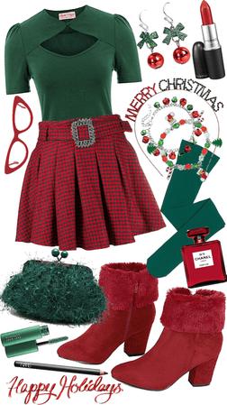 Christmas hues