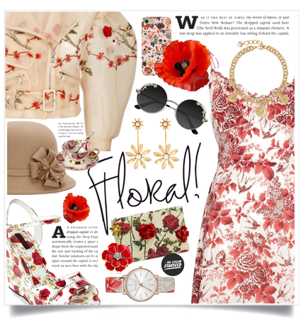 Get The Look: Spring Florals