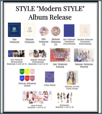 "STYLE ""Modern STYLE"" Album Release"