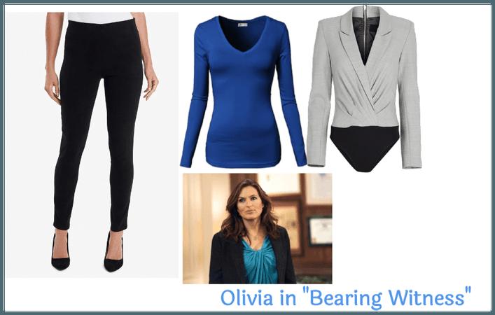 "Olivia in ""Bearing Witness"""