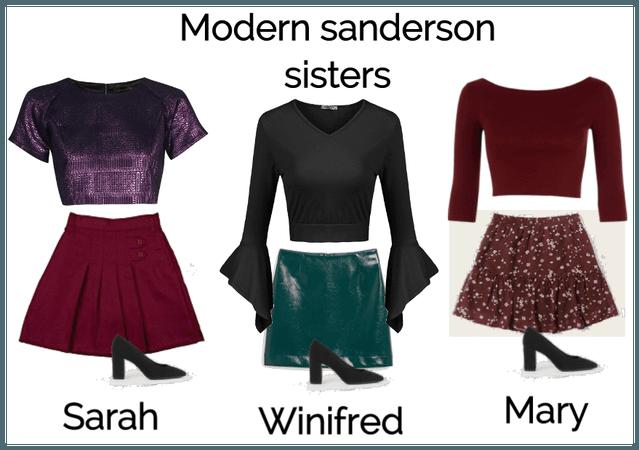 Modern Sanderson Sisters