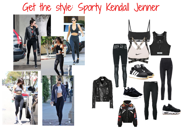 Get the style: Kendall Jenner (sporty)