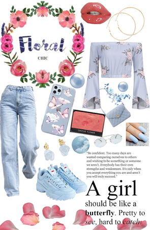 Floral Chic outfit