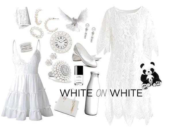 White on White Challenge