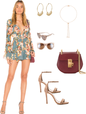 Playsuit for play in mexico
