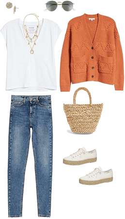 Casual Outfit with Cardigan