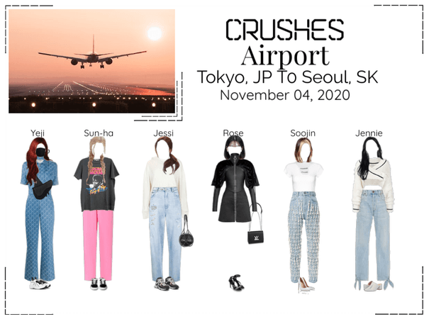 Crushes (호감) Airport Tokyo, JP To Seoul, SK