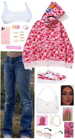 pink bape