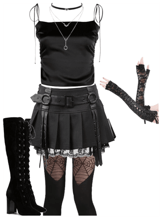 misa amane inspired outfit 5