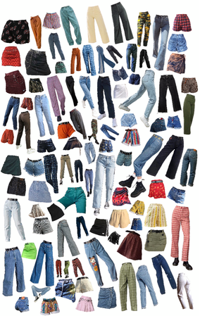 all my pants pngs