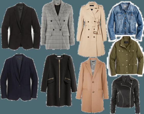 Capsule Wardrobe Jackets