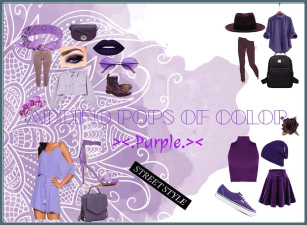 Adding Pops Of Color 6: Purple