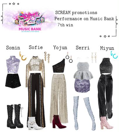 Performance on Music Bank