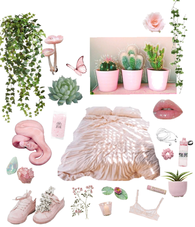 pink succulent🌱🌸