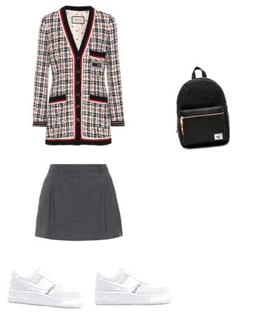 Fanfic school uniform