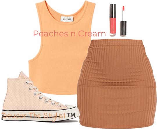 peaches n cream challenge