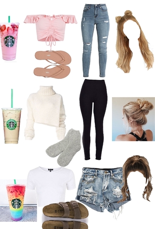 Starbucks inspired outfits