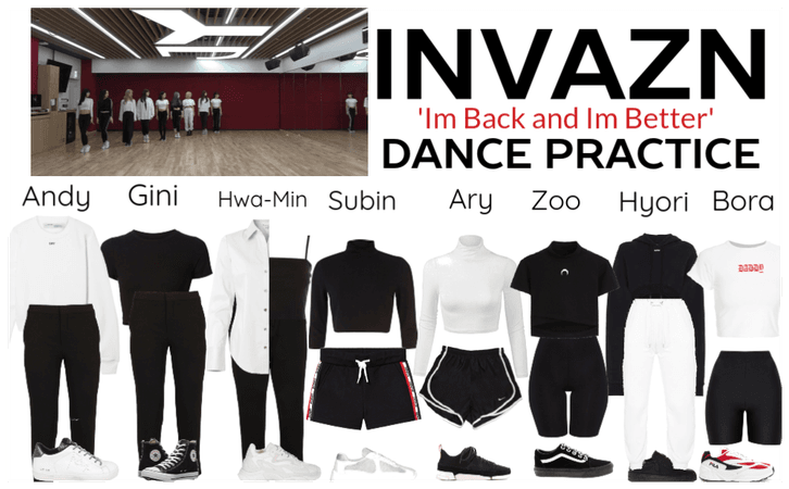 INVAZN 'Im Back and Im Better' Dance Practice
