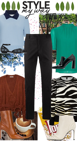My go-to style pick : black dress pants