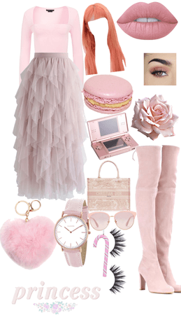 If I were a pink princess