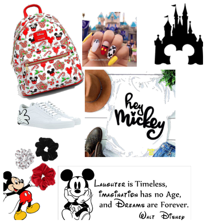 Mickey Mouse get a vacation a Disney World