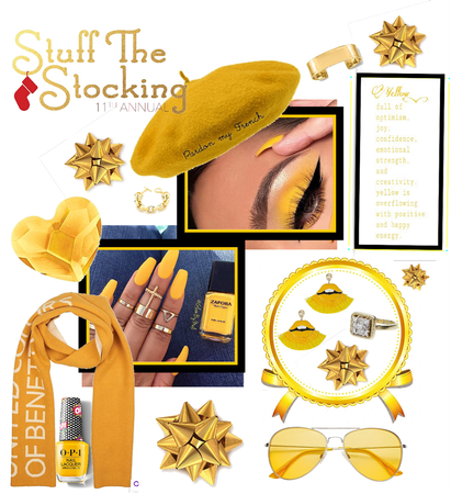 Stuff Your Stocking With Yellow!